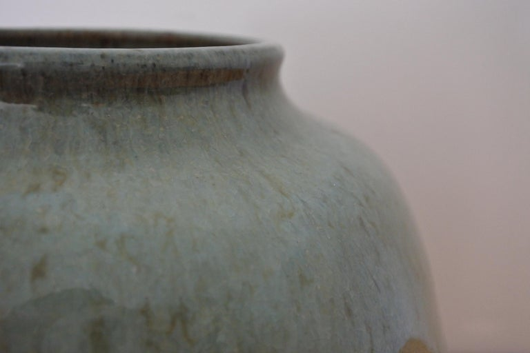 French Stoneware Vase from La Borne, France, 1970s For Sale 4