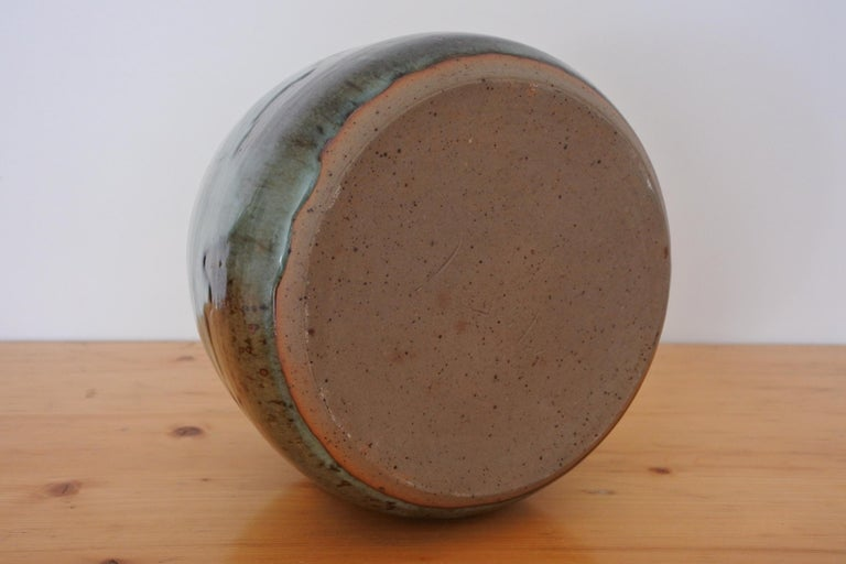 French Stoneware Vase from La Borne, France, 1970s For Sale 5