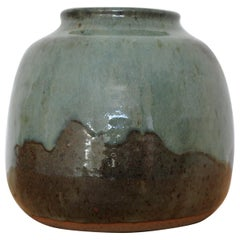 French Stoneware Vase from La Borne, France, 1970s