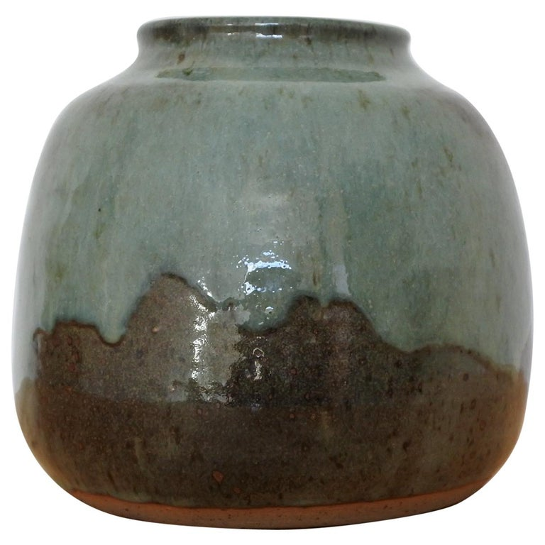 French Stoneware Vase from La Borne, France, 1970s For Sale