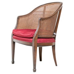 French Style Caned Armchair