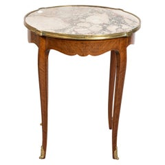 French Style Marble-Top Table