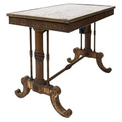 French Style Metal Boulle Table