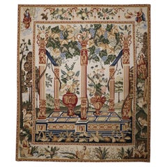 French Style Tapestry Decorative Wall Décor Wool Textile Rug