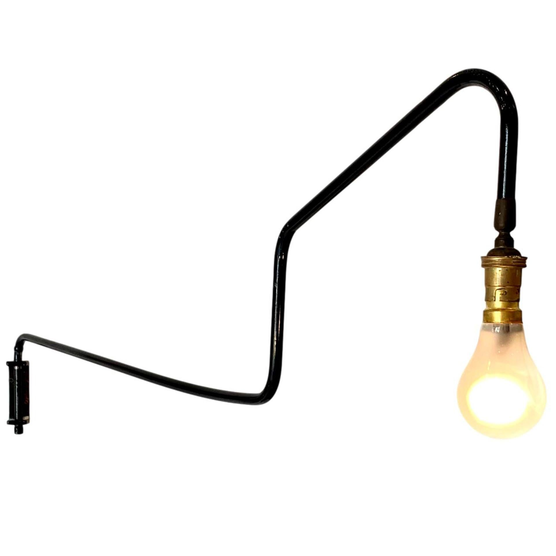 French Swing Arm Wall Light