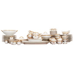 French Syracuse China 132-Piece Parcel Dinner Service
