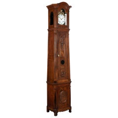 French Tall Case Clock or Horloge De Parquet