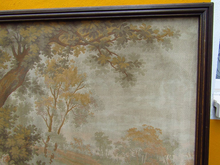 French Tapestry Aubusson Style, 1880 For Sale 6