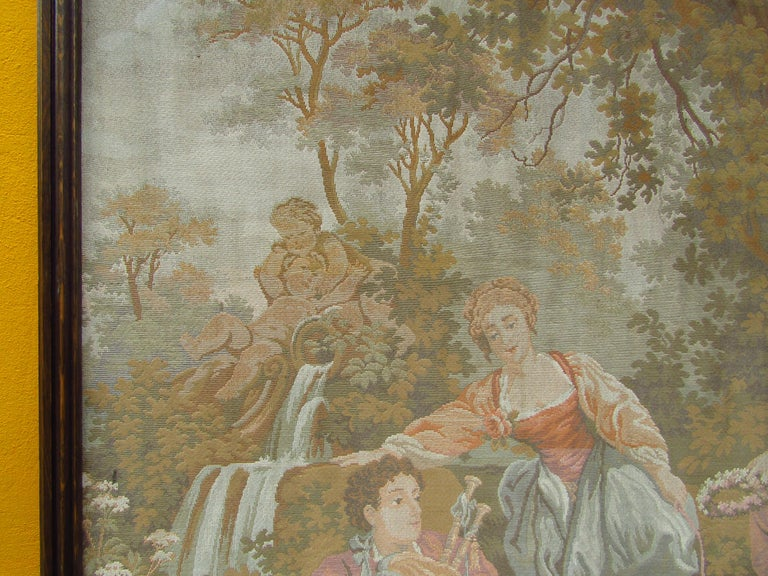 French Tapestry Aubusson Style, 1880 In Good Condition For Sale In Saarbruecken, DE
