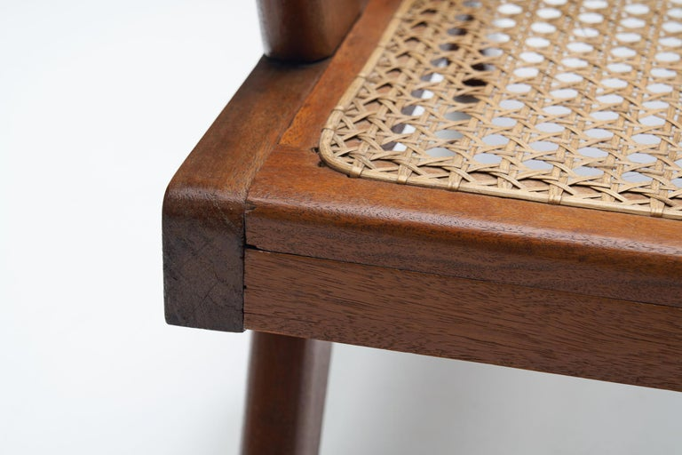 French Teak Armchair, France, 1950s For Sale 10