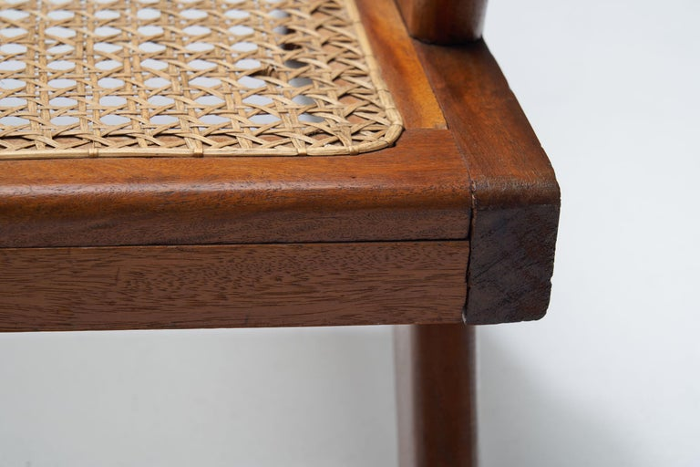French Teak Armchair, France, 1950s For Sale 11