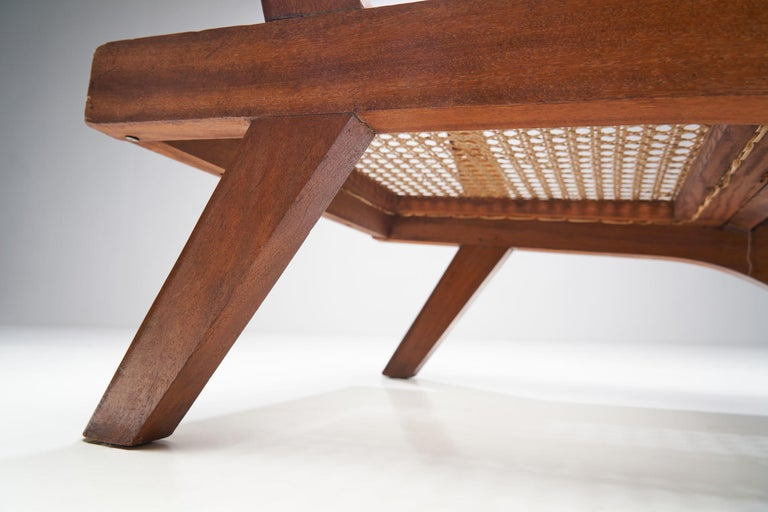 French Teak Armchair, France, 1950s For Sale 13