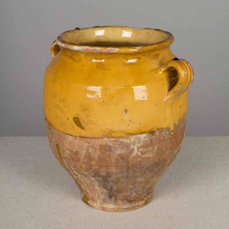 French Terracotta Confit Pot For Sale 1