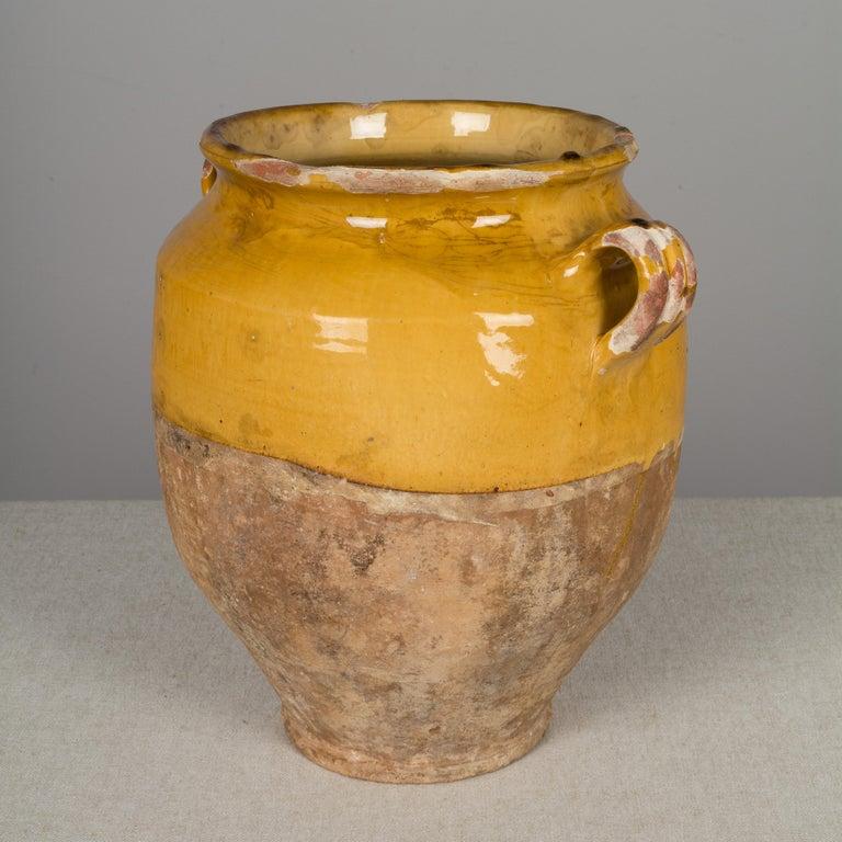 French Terracotta Confit Pot For Sale 2
