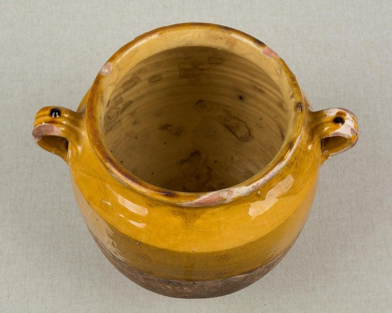French Terracotta Confit Pot For Sale 3