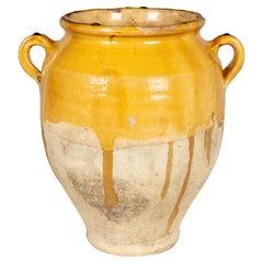 French Terracotta Confit Pot