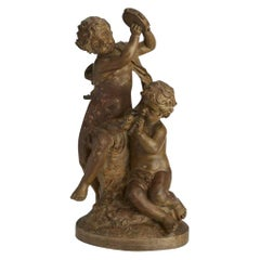 French Terracotta Figural Sculpture, 19th Century