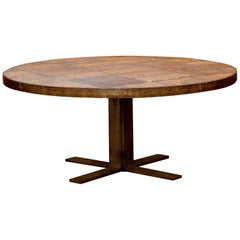 French Terracotta Table, circa 1960