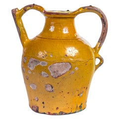 French Terracotta Water Pitcher 'Gargoulette', 19th Century