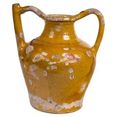 French Terracotta Water Pitcher 'Gargoulette', 19th Century