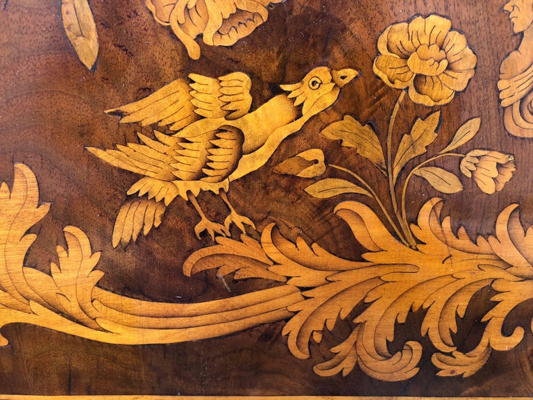 French Thomas Hache Louis XIVth Marquetry Children's Bed, 1690 For Sale 5