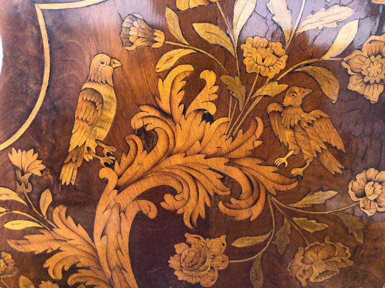 French Thomas Hache Louis XIVth Marquetry Children's Bed, 1690 For Sale 7