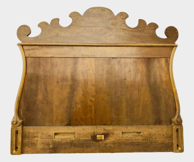 French Thomas Hache Louis XIVth Marquetry Children's Bed, 1690 For Sale 13
