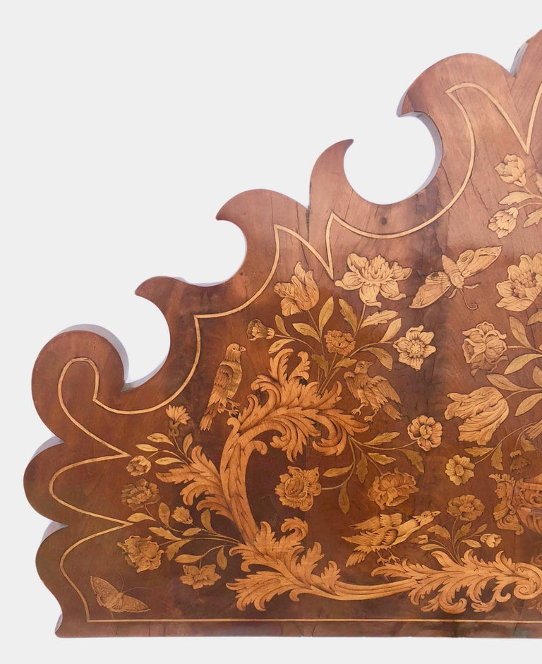 French Thomas Hache Louis XIVth Marquetry Children's Bed, 1690 For Sale 1