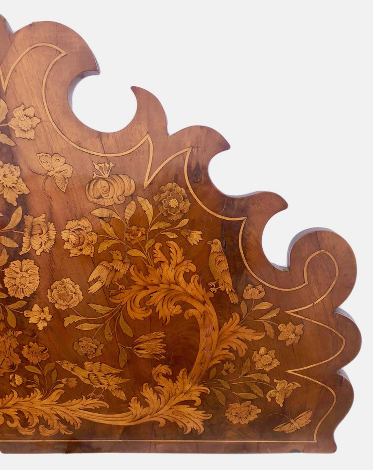French Thomas Hache Louis XIVth Marquetry Children's Bed, 1690 For Sale 3