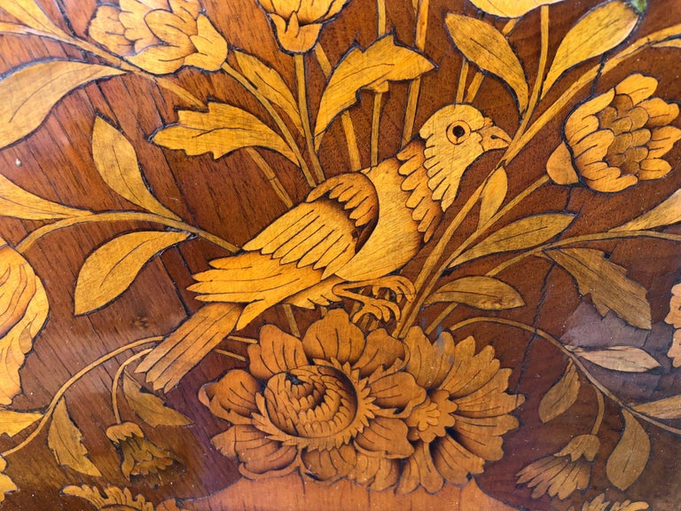 French Thomas Hache Louis XIVth Marquetry Children's Bed, 1690 For Sale 4