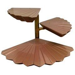 Italian Tiered Occasional Table