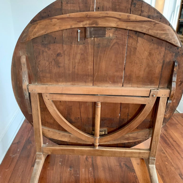 French Tilt-top Wine Tasting Table, 19th Century For Sale 5