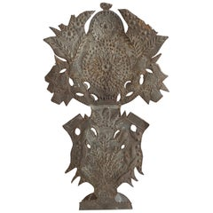French Tole Altar Decoration Lamp
