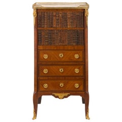 French Transitional 19th Century Ladies Writing Secretaire