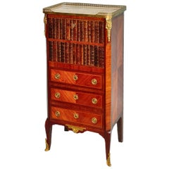 French Transitional 19th Century Lady's Writing Secretaire