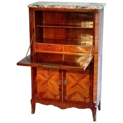 French Transitional Secretaire Mid-19th Century