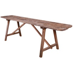 French Trestle Table