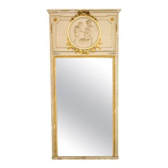 Glass Trumeau Mirrors