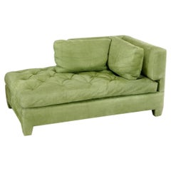 French Tufted Chaise Lounge