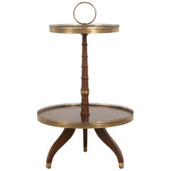 French Two-Tier Occasional Table