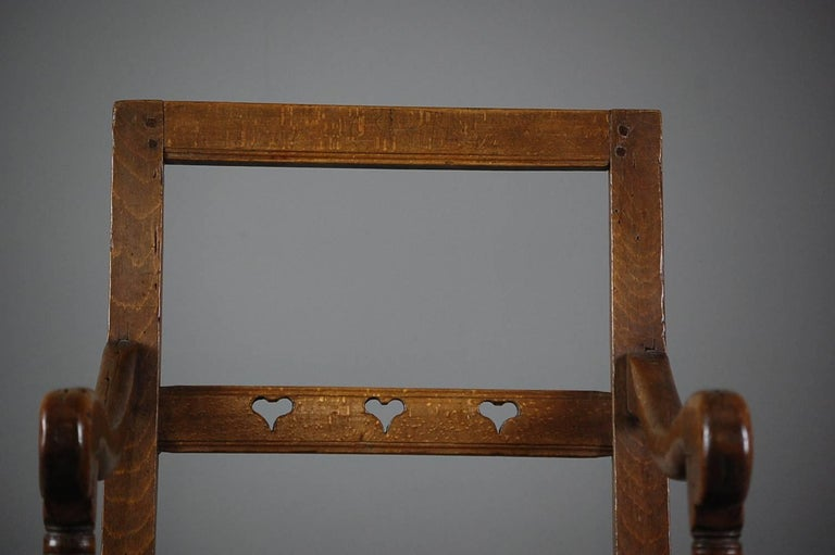 French Country Marriage or Love Chair For Sale 1
