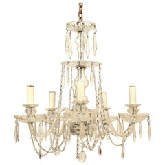 French Victorian Crystal Chandelier