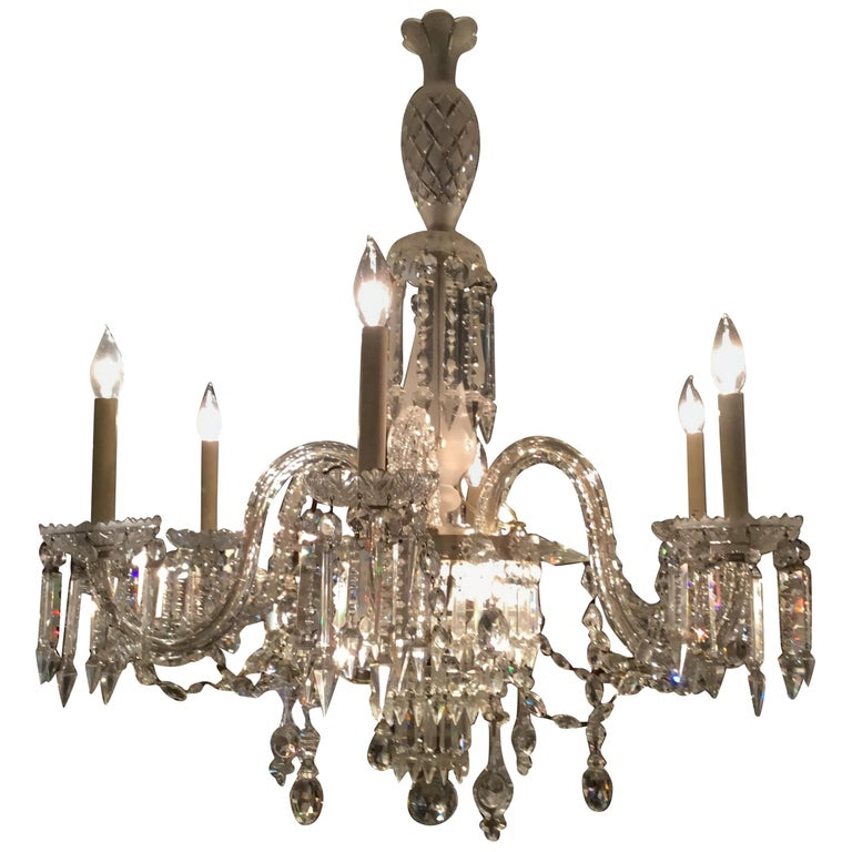 Small 3 Arms Emerald Green enameled crystal chandelier with glass flowers