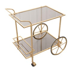 French Vintage Bar Cart