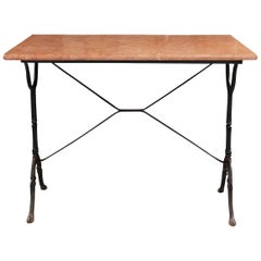 French Vintage Bistro Table