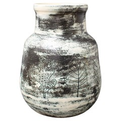 French Vintage Ceramic Vase by Jacques Blin 'circa 1950s'
