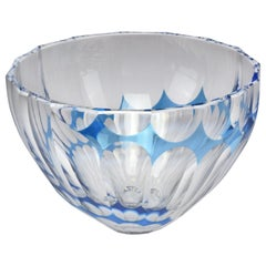 French Vintage Crystal Bowl or Centerpiece by Saint Louis, 1960-1970