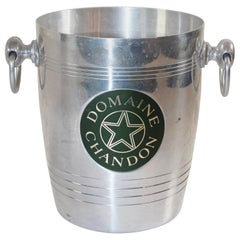French Vintage Domaine Chandon Champagne Ice Bucket Cooler