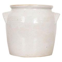 French Vintage Earthenware Crock