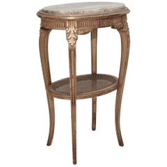 French Vintage Hollywood Style Pedestal / Stand